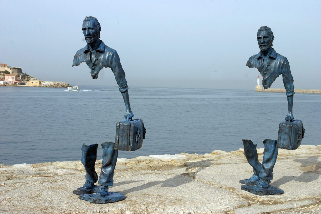 The Voyageurs by Bruno Catalano